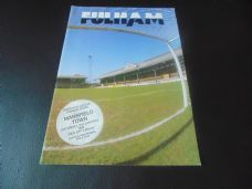 Fulham v Mansfield Town, 1988/89